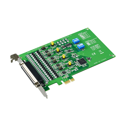 CIRCUIT BOARD, 4-port RS-232/422/485 PCIe Comm. Card w/Iso