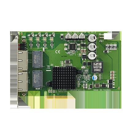 4-Port PCIe GbE PoE Vision Card