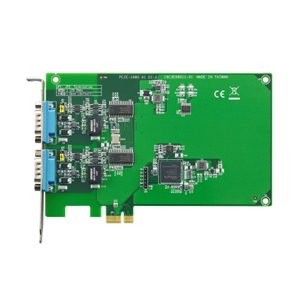 CIRCUIT BOARD, 2-Port CAN-Bus PCIE card w/ Isolation