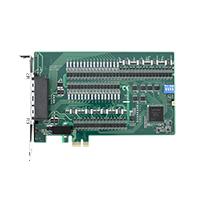 PCI Express卡擁有(數位輸入)x64, (數位輸出)x64</br> <!--128 channel Isolated Digital I/O Card-->