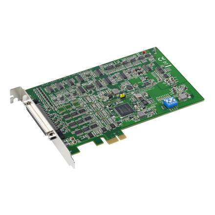 16-Channel PCIE Multifunction Card, 12bit, 800kS/s