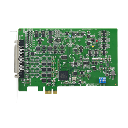 CIRCUIT BOARD, 16ch, 16bit, 500kS/s PCIE Multifunction Card