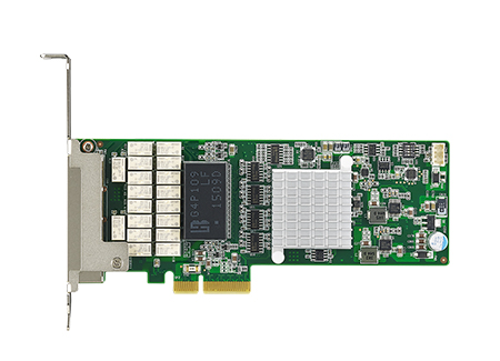 Quad GbE PCI Express Server Adapter with Bypass & Intel<sup>®</sup> I350