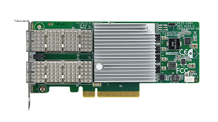 Dual Port Fiber 40G Ethernet PCI Express Server Adapter with Intel<sup>®</sup> XL710