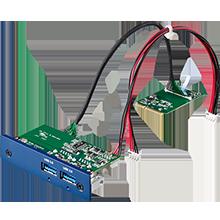 PCM-24U2U3, 2-Port USB 3.0, mPCIe Expansion Module