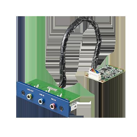 3-Port Audio Stereo, mPCIe, 3.5mm Jack iDoor Module