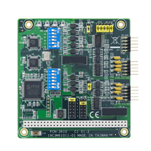 Isolated RS-232/422/485 PC/104 Serial Communication Module