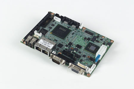 "3.5"" Embedded Single Board Computer Intel<sup>®</sup> Atom™ N450, LVDS, Dual LAN"