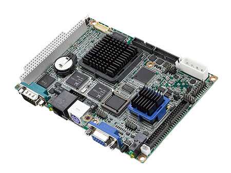 "3.5"" Embedded Single Board Computer AMD<sup>®</sup> G LX800, LVDS, 4 COM, 4 USB, 2 LAN"
