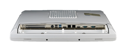 <li>研華19吋超薄醫療級電容式觸控電腦</li> <li>IP54 Intel<sup>®</sup> Core™ i7-6600U, 4G RAM, HDD 500G, 2xRJ45/COM 1.5kV Isolated, UPS Battery, IEC 60601-1認證</li>