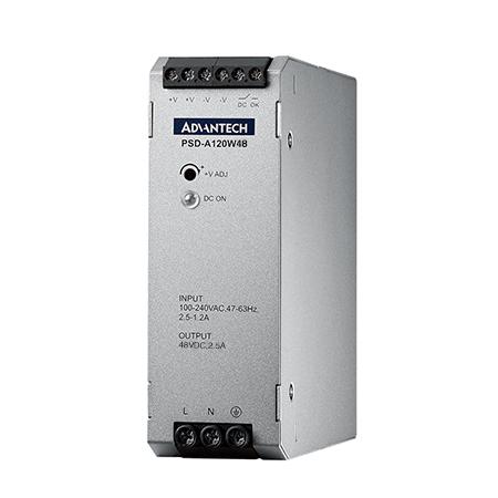 AC to DC 100-240V 120W 48V 軌道式電源供應器