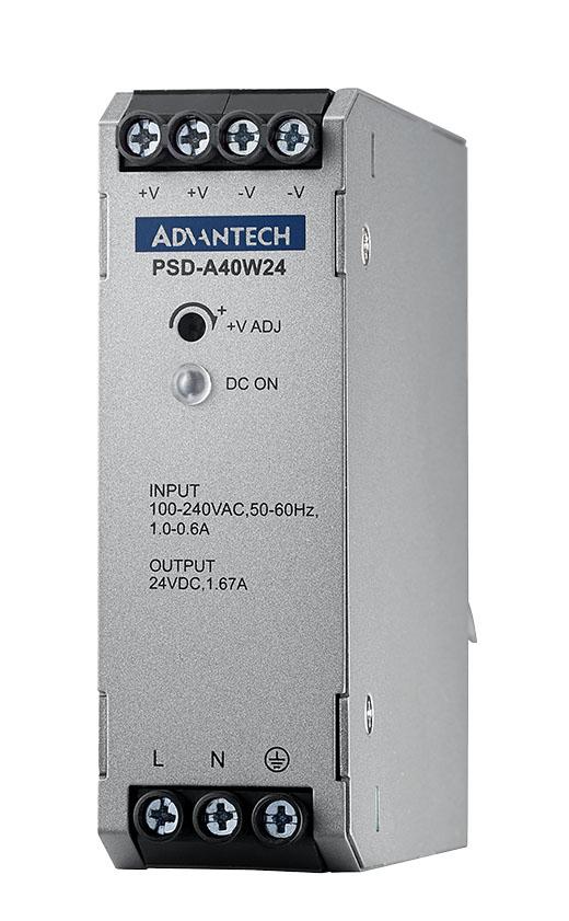 DIN RAIL A/D 100-240V 40W 24V
