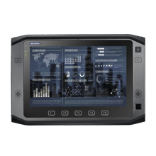 """10.1"""" Rugged Tablet PC with Dual Core Intel Celeron, Modular Expansion, Windows 10 IoT"""