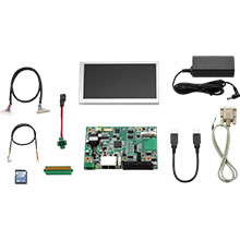 RISC Platform Evaluation Kit for RSB-4220, TI Sitara AM3352 cortex A8 3.5inch SBC