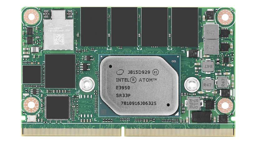 CIRCUIT BOARD, Intel<sup>®</sup> Atom™ E3900 / Pentium<sup>®</sup> / Celeron<sup>®</sup> SOM-2569 N Series SMARC Module