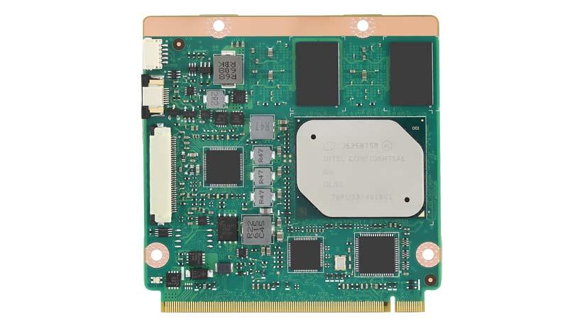 CIRCUIT BOARD, Intel<sup>®</sup> Atom™/Pentium<sup>®</sup>/Celeron<sup>®</sup> Series SOM-3569 QSeven CPU Module