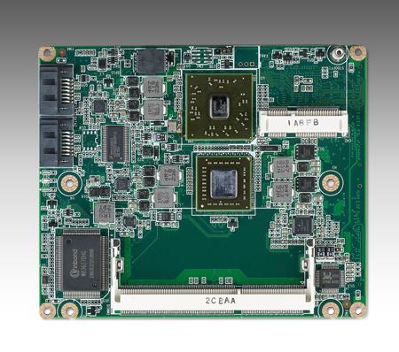 CIRCUIT BOARD, AMD T16R & A55E SOM ETX module (LVDS)