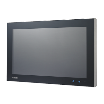 """18.5"""" WXGA TFT LED LCD stationary Multi-Touch Panel Computer with Intel i3 processor"""