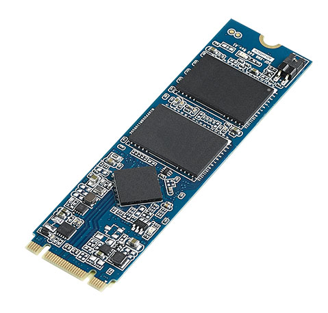 64GB MLC SATA M.2 2280 Ind. Solid State Drive (-40~85C)
