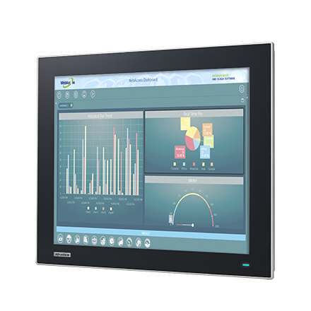 "17"" SXGA TFT LED LCD Intel Atom E3827 based Thin Client Terminals with Mini-PCIe and iDoor expansions"