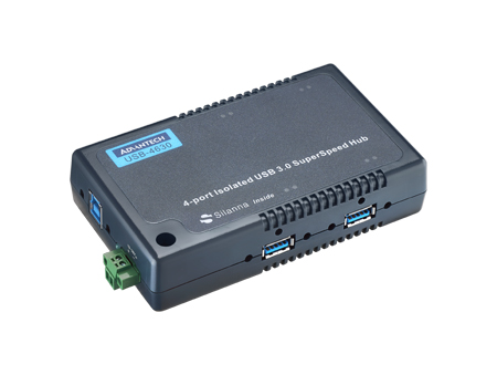 4-Port SuperSpeed Isolated USB 3.0 Hub