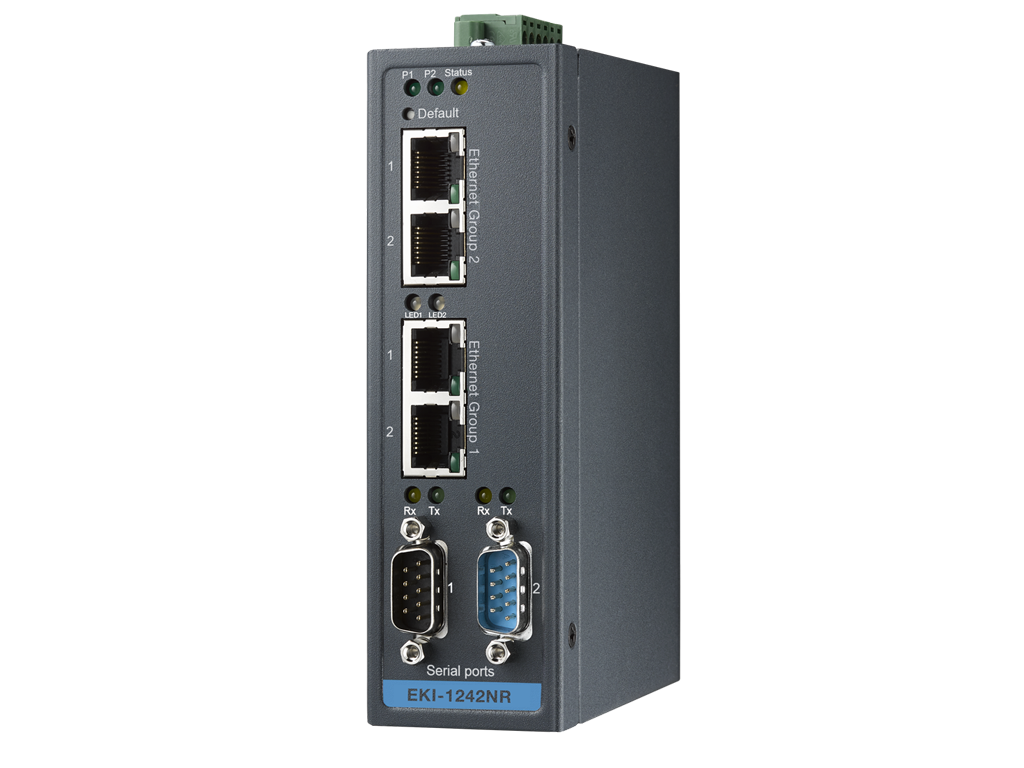 Using The Browser Based Programming Tool Users Can Adopt Themselves In Any Environment Advantech Node Red Gateways Eki 1242nr And 1242inr Serve As