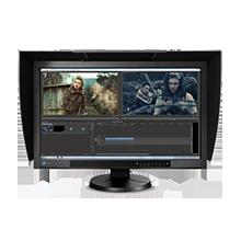 "EIZO 27"" CG277-BK Wide TFT IPS LCD 300 cd/m2, 2560x1440 Black Monitor with Hood"